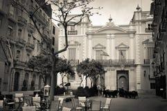 Valencia city, Spain. Vintage view of Valencia city, Spain Stock Image