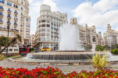 Valencia Citycenter Royalty Free Stock Image