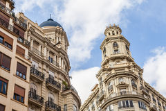 Valencia Citycenter Royalty Free Stock Photography