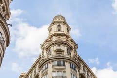 Valencia Citycenter Royalty Free Stock Photos