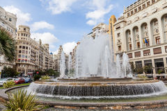 Valencia Citycenter Stock Images