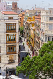Valencia cityyscape view fron Seranos Tower Royalty Free Stock Image