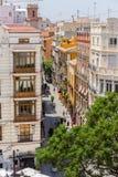 Valencia cityyscape view fron Seranos Tower Royalty Free Stock Image
