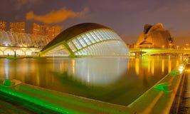 Valencia, ciudad de la ciencia y del arte, España Fotografía de archivo libre de regalías