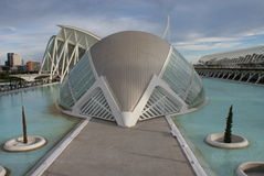 Valencia Ciudad de las Artes y las Ciencias - Hemisferic Royalty Free Stock Images