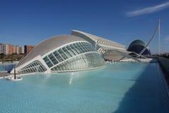 Valencia Ciudad de las Artes y las Ciencias - Hemisferic Royalty Free Stock Photos