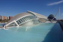 Valencia Ciudad de las Artes y las Ciencias - Hemisferic Royalty Free Stock Image