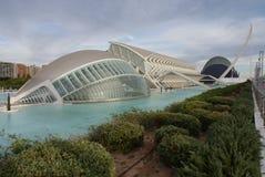 Valencia Ciudad de las Artes y las Ciencias - Hemisferic Stock Image