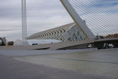 Valencia Ciudad de las Artes y las Ciencias - Museo de las Ciencias Principe Felipe Stock Images