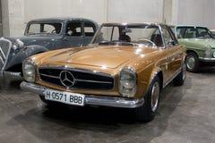 Valencia Classic Car Show Stock Photo