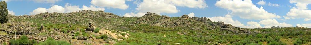 Valencia de Alcantara granite rock landscape Stock Photography