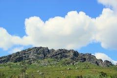 Valencia de Alcantara granite rock landscape Royalty Free Stock Image