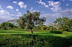 Valencia, dichtbij de Stad van kunsten en wetenschappen Royalty-vrije Stock Afbeeldingen
