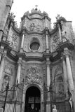 Valencia Door av domkyrkan Royaltyfri Fotografi