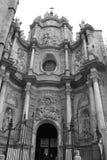 Valencia Door der Kathedrale lizenzfreie stockfotografie