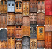 Valencia doors Royalty Free Stock Photo