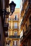 Valencia Downtown cerca de la calle de Sant Vicent Fotografía de archivo libre de regalías