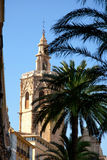 Valencia El Miguelete Micalet cathedral Royalty Free Stock Images