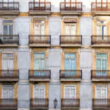 Valencia Facades Royalty Free Stock Photo