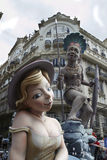 Valencia fallas festival Stock Photography