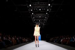 Valencia Fashion Week Stock Photography