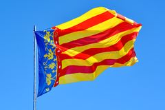 Valencia Flag Stock Image
