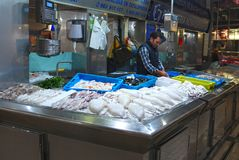 Valencia Food Market royaltyfria bilder