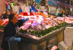 Valencia Food Market photos stock