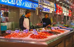 Valencia Food Market Royaltyfria Foton