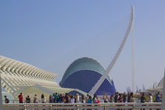 Valencia-Formen lizenzfreie stockfotos