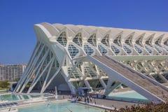 Valencia-Formen lizenzfreie stockfotografie