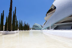 Valencia Hemispheric - City of Arts and Science, Spain Stock Photo