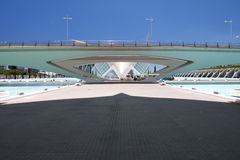 Valencia Hemispheric - City of Arts and Science, Spain Royalty Free Stock Photo