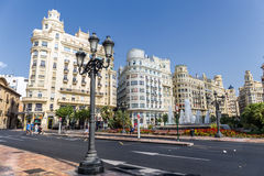 Valencia Historic Buildings Royalty Free Stock Images