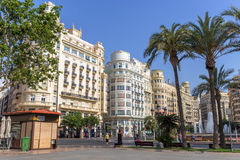 Valencia Historic Buildings Royalty Free Stock Photo