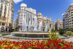 Valencia Historic Buildings Royalty Free Stock Photography