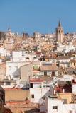 Valencia i en solig sommardag Arkivbilder