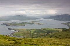 Valencia Island, Ireland. View of Coast near Valencia Island, Ireland Stock Images