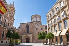 Valencia-Kathedrale Lizenzfreie Stockfotos