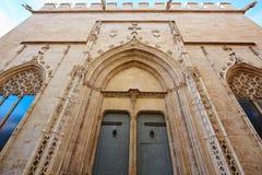 Valencia La Lonja de Seda historic building Stock Images