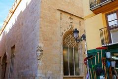 Valencia La Lonja de Seda historic building Royalty Free Stock Photography