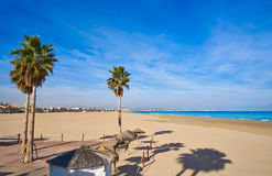 Free Valencia La Malvarrosa Beach Arenas Spain Stock Photography - 89331532