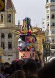 Valencia, Las Fallas Imágenes de archivo libres de regalías