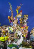 Valencia, Las Fallas Immagini Stock Libere da Diritti