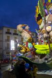 Valencia, Las Fallas Immagini Stock