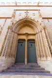 Valencia Lonja gothic facade UNESCO heritage Stock Photos