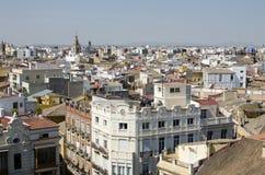Valencia, luchtmeningen Royalty-vrije Stock Afbeelding