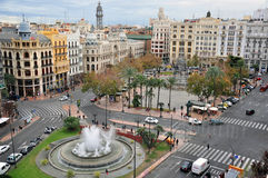Valencia magic view Stock Photo