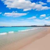 Valencia Malvarrosa beach Las Arenas Spain Stock Image