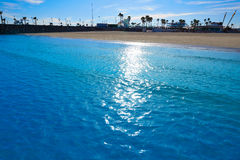 Valencia Malvarrosa beach Las Arenas Spain Royalty Free Stock Image